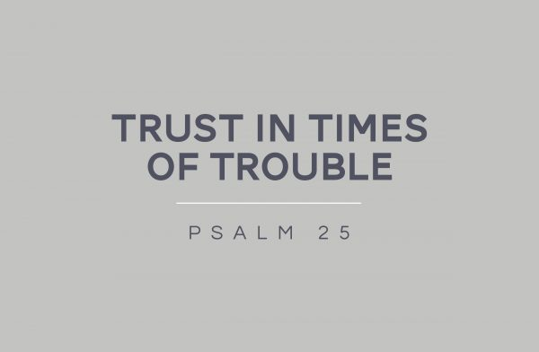 Trust in Times of Trouble