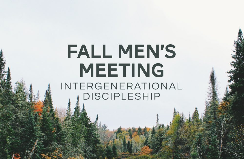 Fall Men's Meeting Image